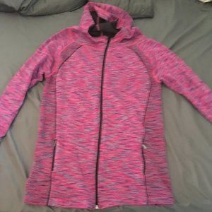 size Large running jacket